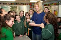 Each Year Scientists From The Alimentary Pharmabiotic Centre Can Be Found In Primary Schools Around Cork City And County Talking To Young Students About