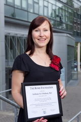 Dr Siobhain OMahony A Neuroscientist In The Alimentary Pharmabiotic Centre APC And Department Of Anatomy UCC Was Recently Awarded Ray Clouse